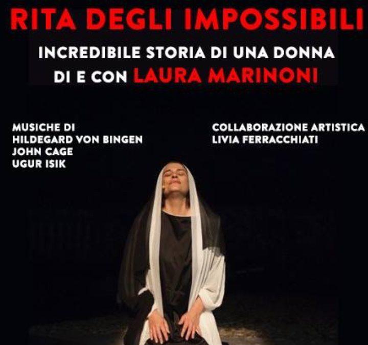Saint Rita of Cascia written by and starring Laura Marinoni.