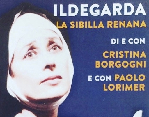 Paolo Lorimer and Cristina Borgogni in their latest theatrical piece
