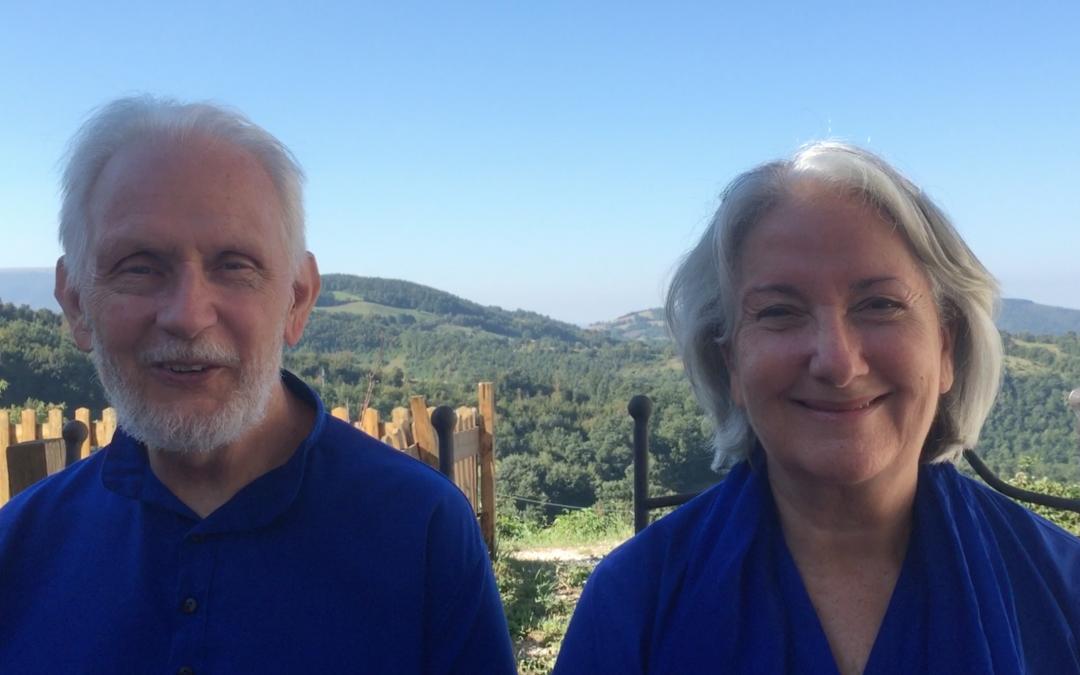 Nayaswami Jyotish and Devi speak about the Temple of Joy.
